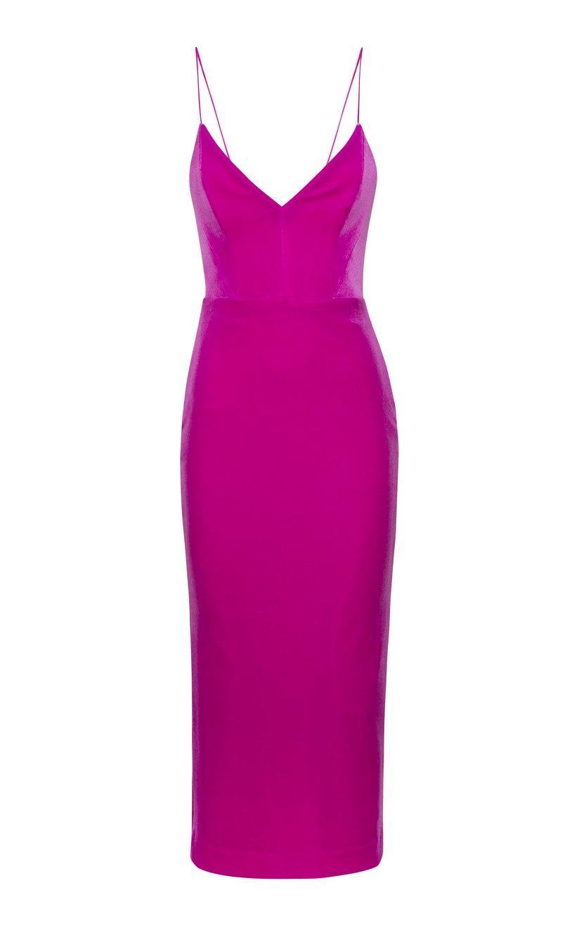 Jordan Velvet Dress Item # D682