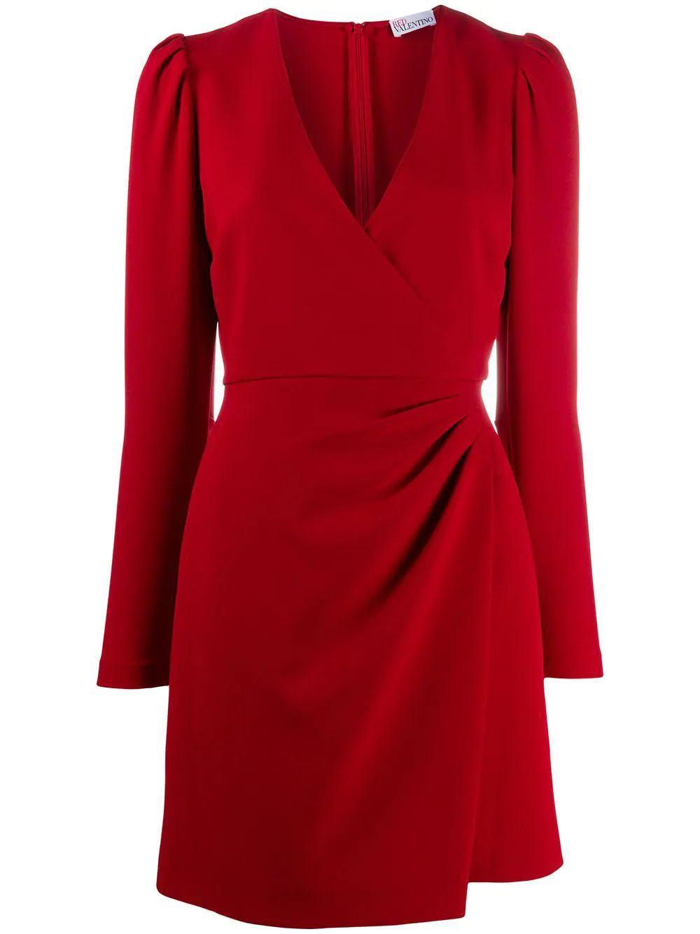 Faux Wrap Dress Item # UR3VAT10562