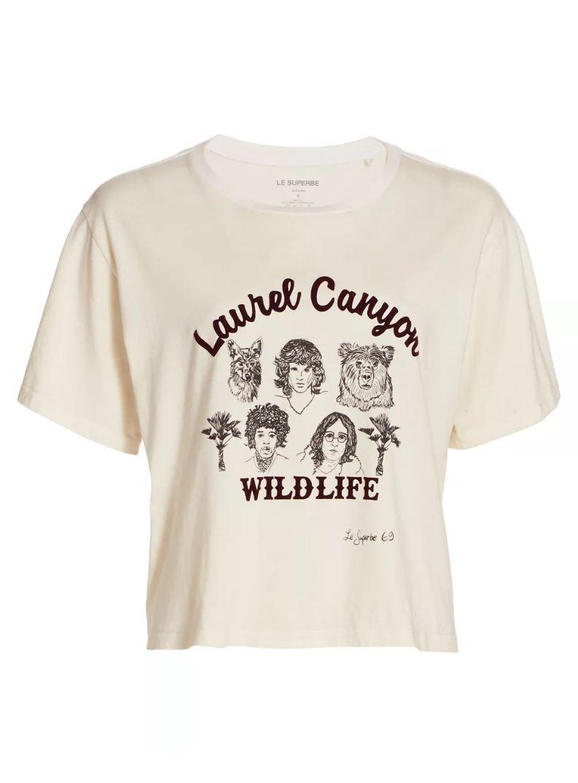 Laurel Canyon Wildlife Tee Item # FW20-265WILD