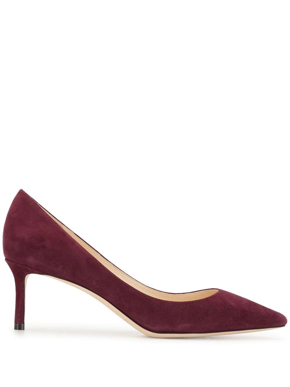 Romy 60mm Suede Pumps Item # ROMY60-SUE-PF20