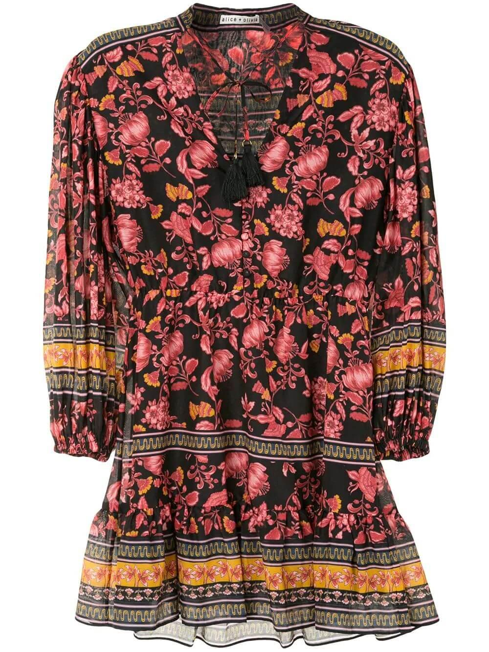 Sedona Floral Print Dress Item # CC007P02502