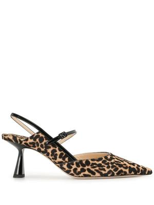Ray 65mm Leopard Slingback