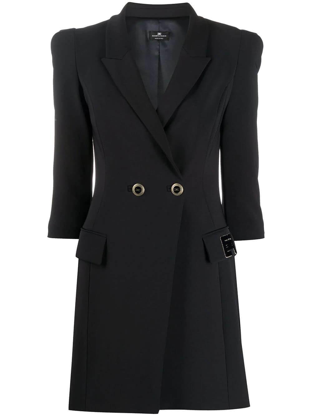 Fitted Blazer Dress