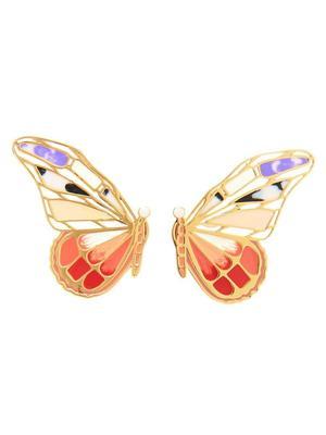 Mixed Butterfly Stud Earrings