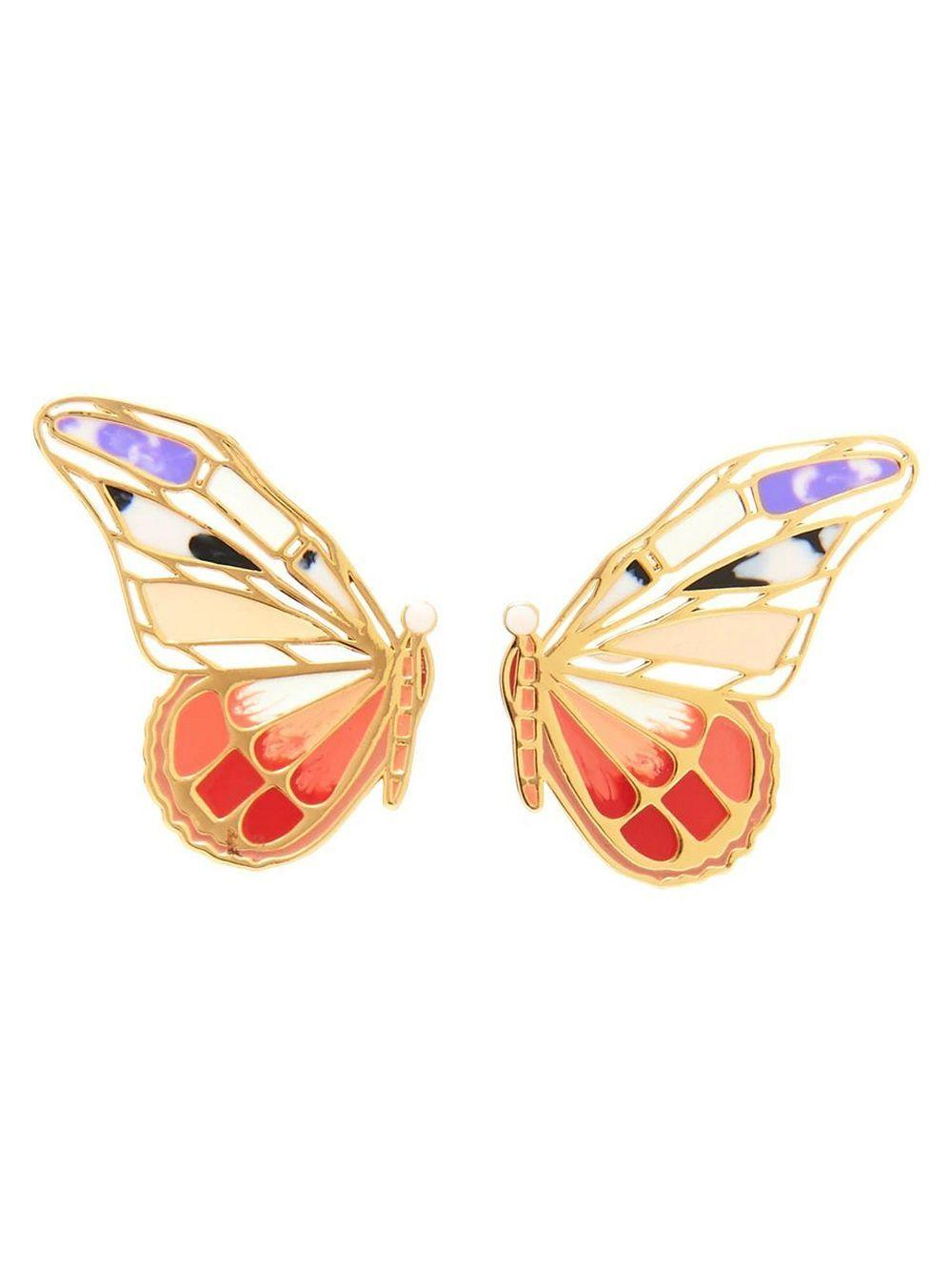 Mixed Butterfly Stud Earrings