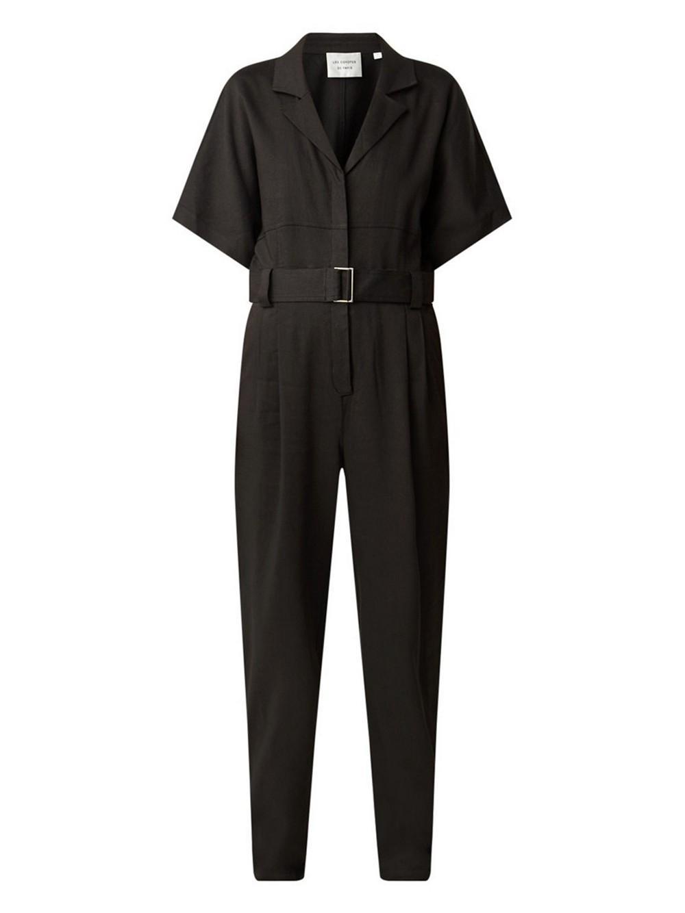Frankie Short Sleeve Jumpsuit Item # 212-34-058