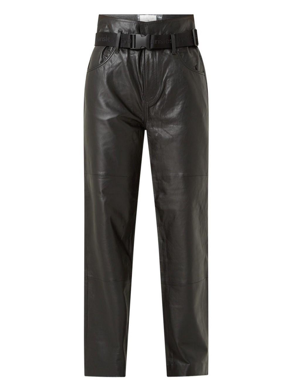 Dawn Paperbag Leather Pant Item # 212-13-055