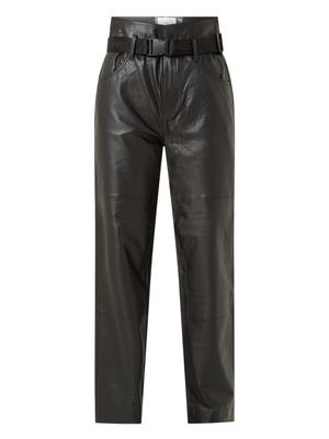 Dawn Paperbag Leather Pant