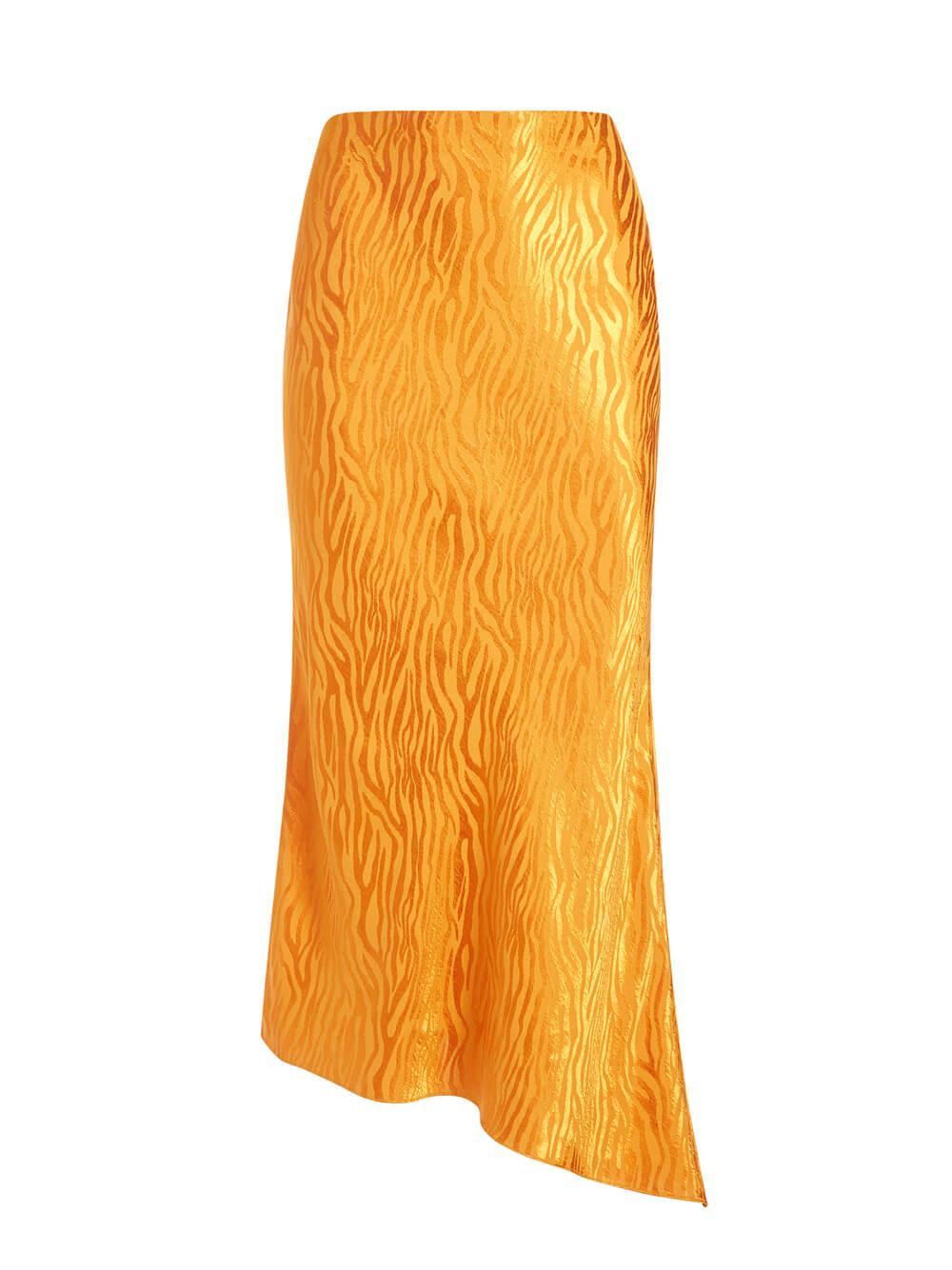Maeve Asymmetrical Slip Skirt Item # CC008Q17309