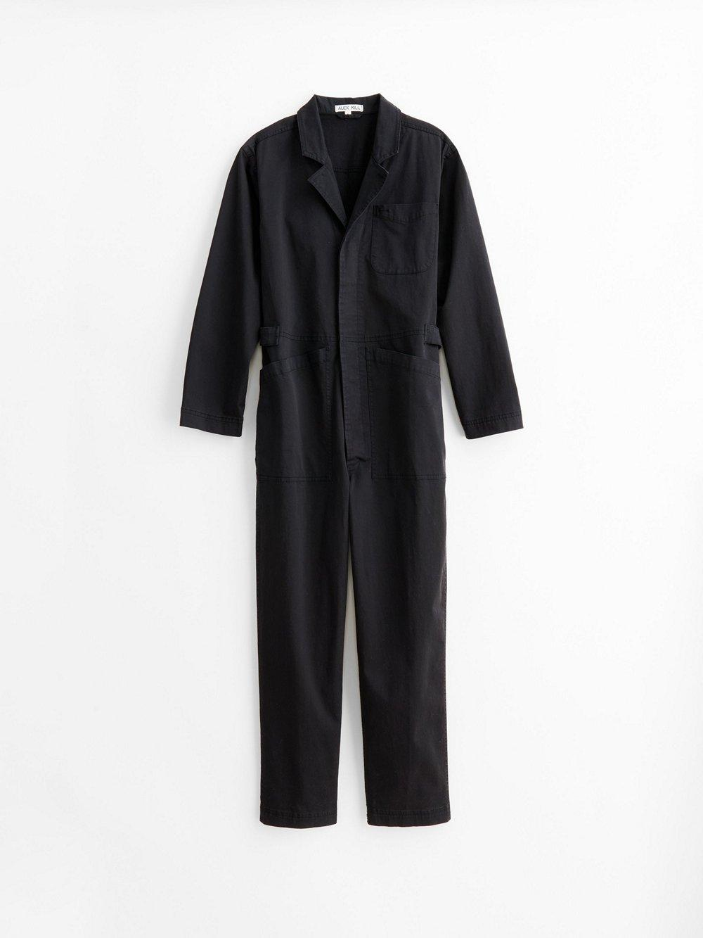Standard Jumpsuit In Cotton Twill Item # C00-WX002-2172
