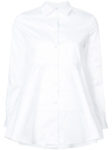 Tiered Buttondown Shirt