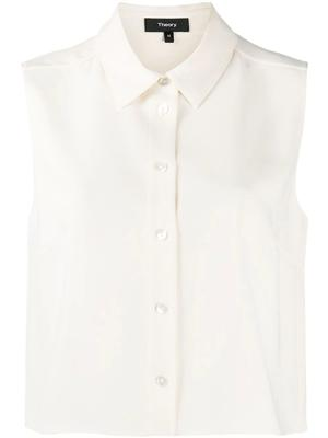 Shrunken Button Down Shirt