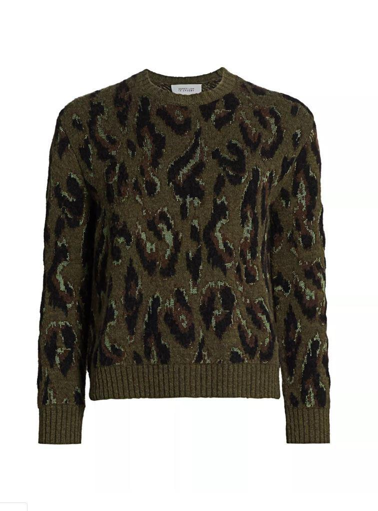 Evan Animal Print Sweater