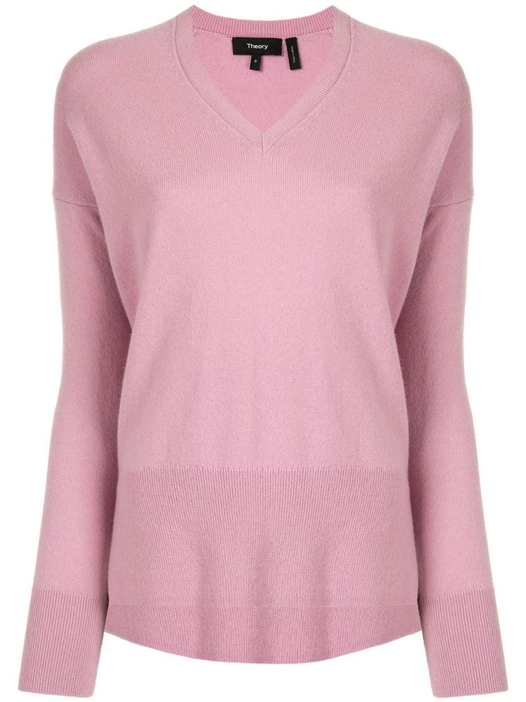 Karenia Cashmere V- Neck Sweater Item # K0718729