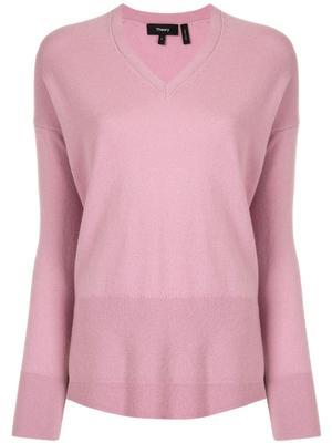 Karenia Cashmere V-Neck Sweater