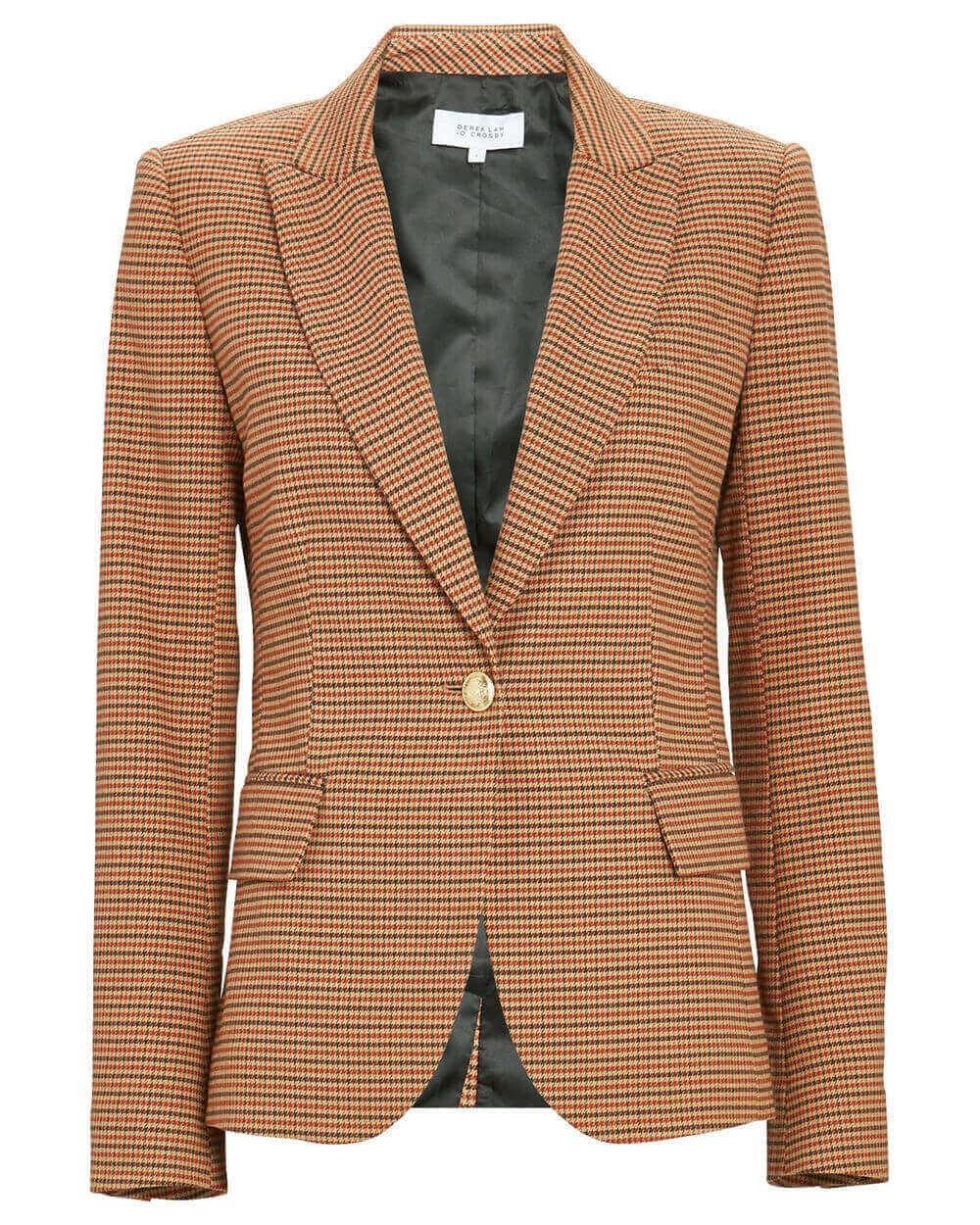 Allie Single Button Blazer Item # TF01216MC