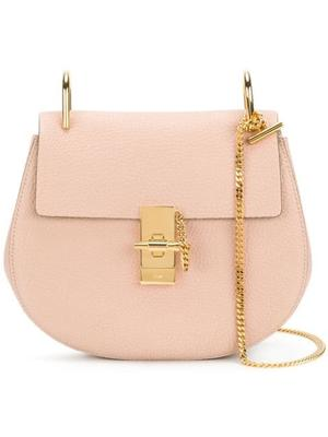 Drew Small Saddle Bag With Chain Strap