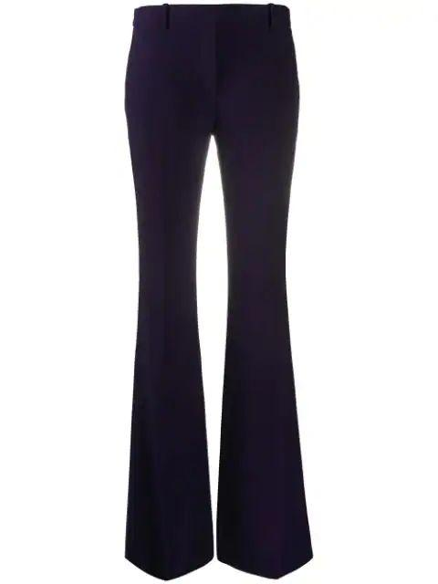 Tailored Bootcut Trousers Item # 585076QEAAA