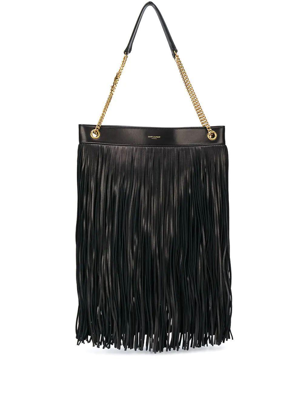 Grace Medium Bag With Fringe Item # 6337521ELGW