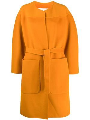 Belted Wool Car Coat
