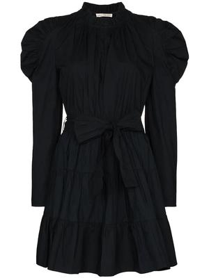 Naima Puff Sleeve Short Dress