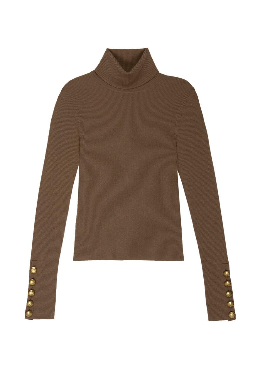 Desi Turtleneck Sweater Item # 7SWPO00430-F20
