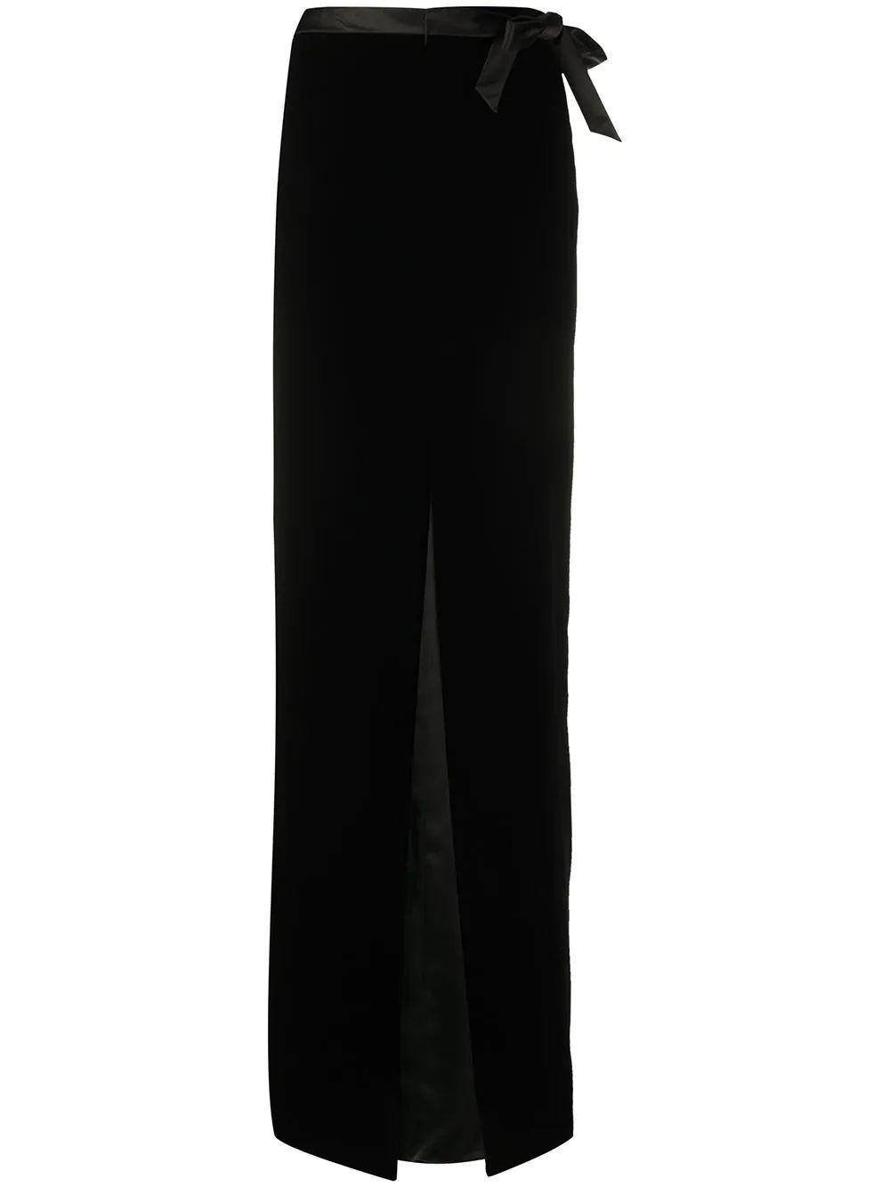 Long Velvet Skirt Item # 627256Y525R
