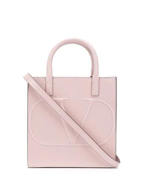 V-Logo Tote Bag