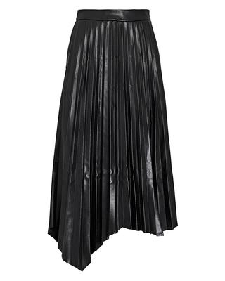 Jayla Vegan Leather Pleated Skirt