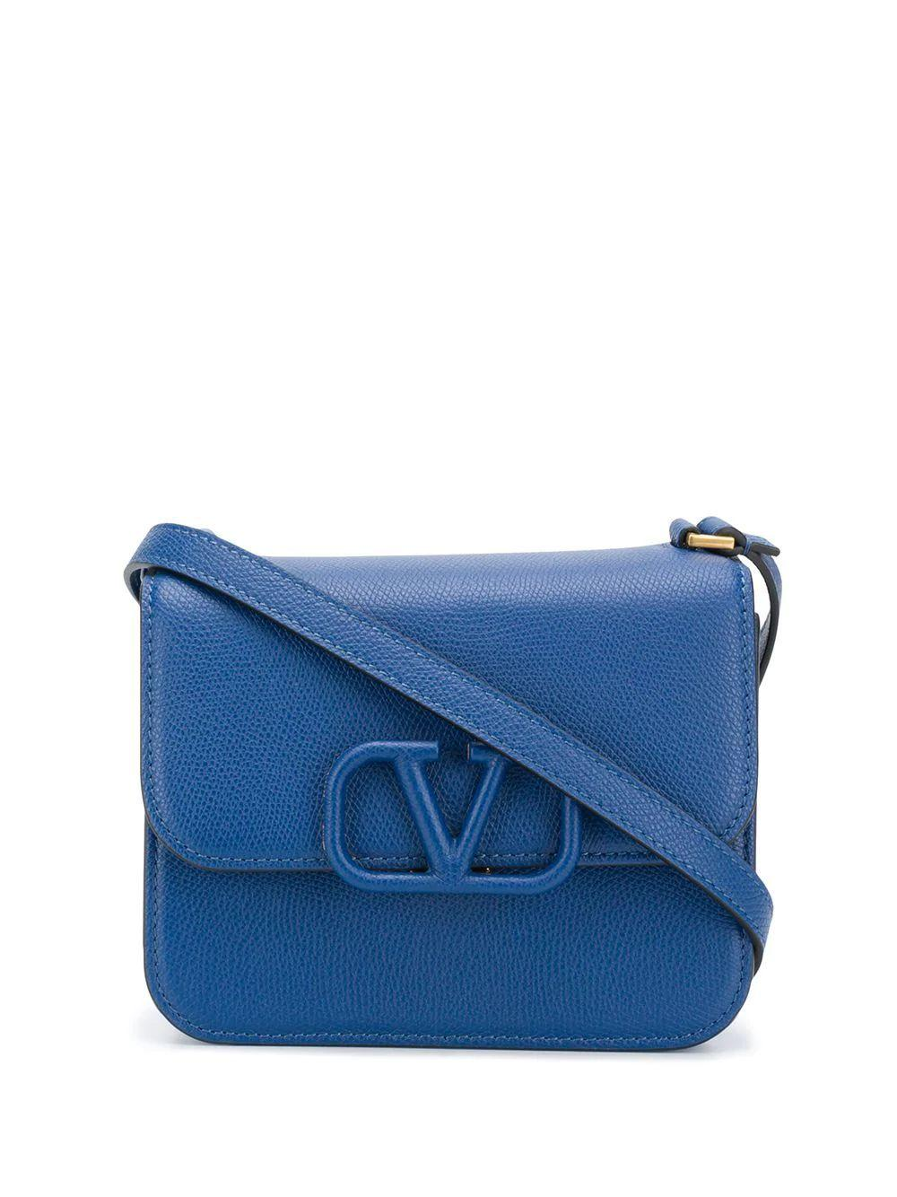 V- Logo Small Shoulder Bag