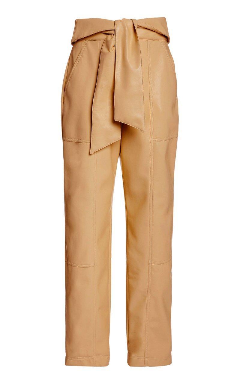 Tessa Vegan Leather Pant Item # 520-4011-L