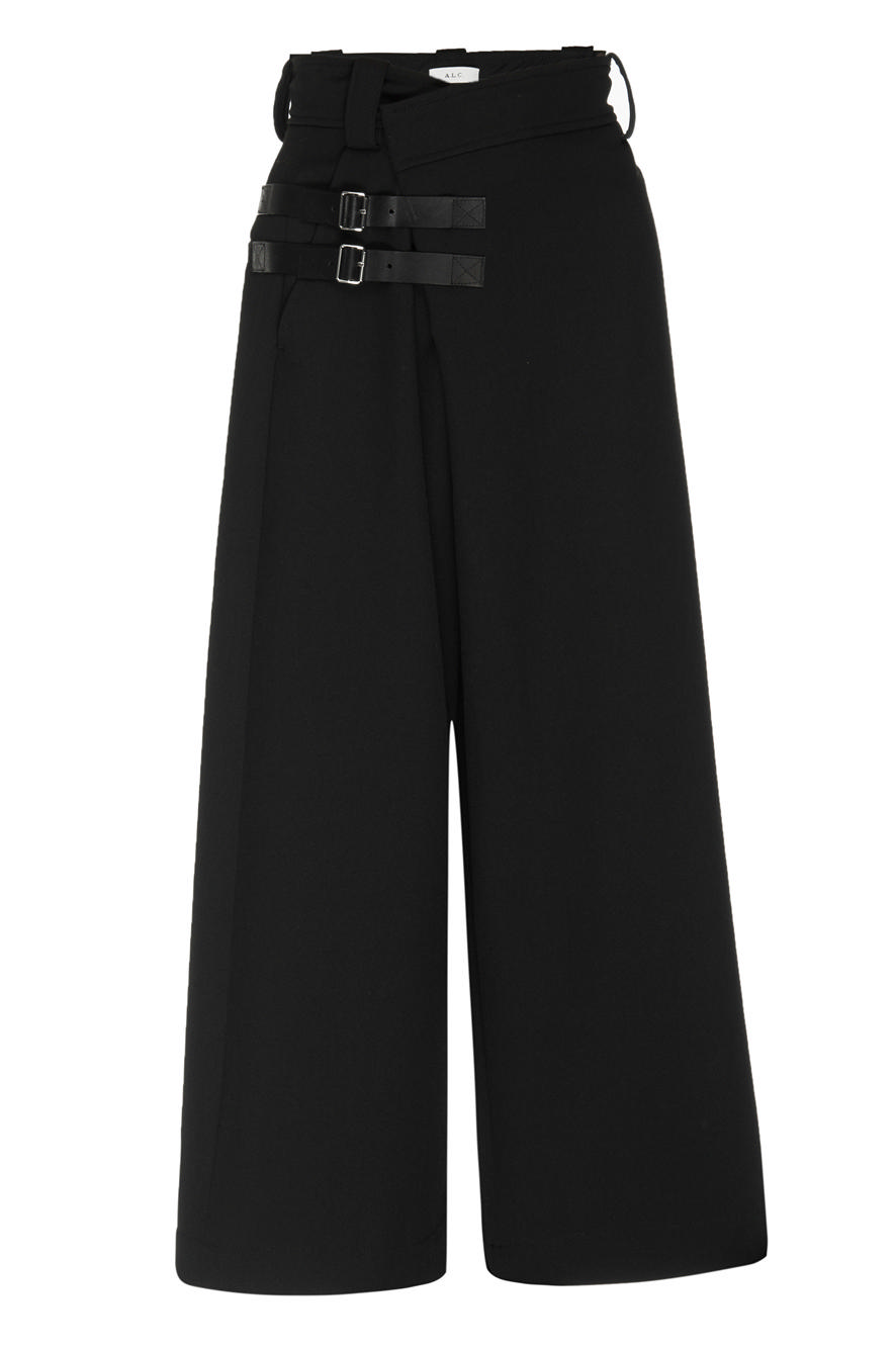Corban Cropped Wide Leg Pant Item # 2PANT00563