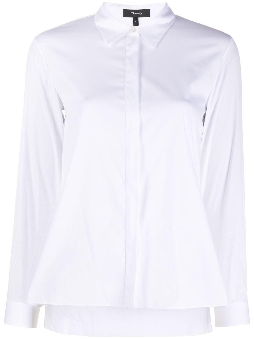 Button Down Trapeze Shirt
