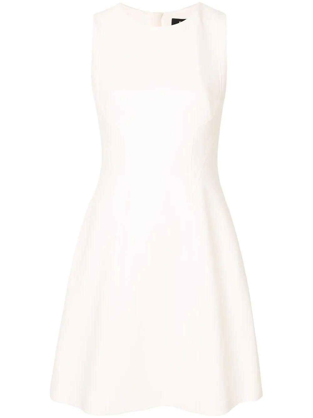 Fit and Flare Scoop Neck Dress