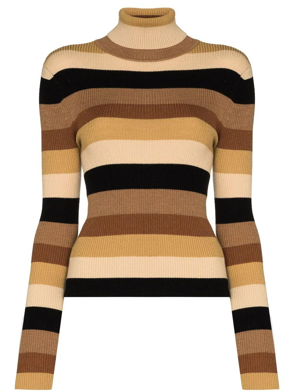 Ken Striped Turtleneck