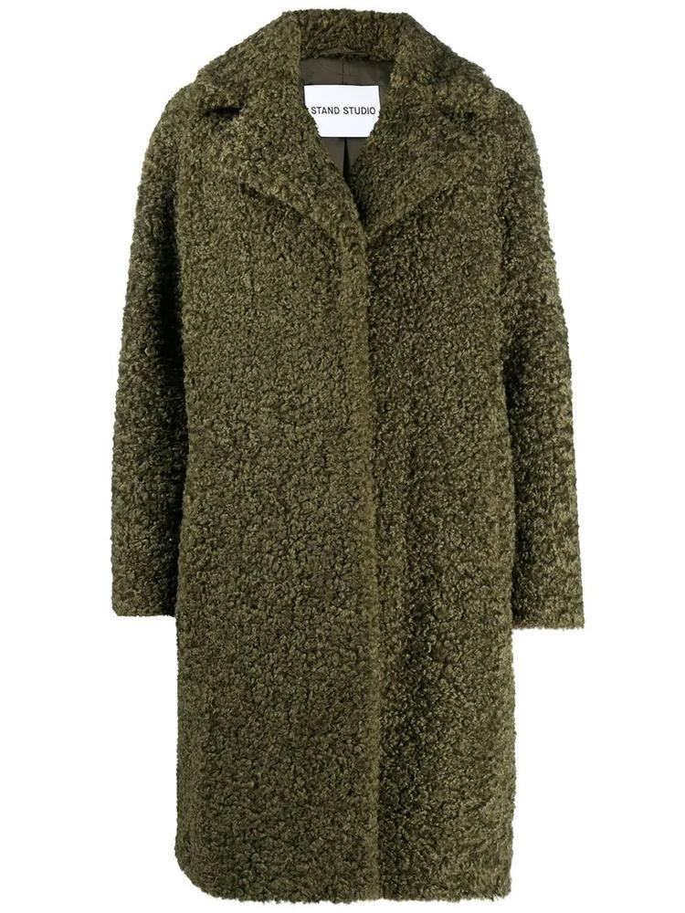 Camille Cocoon Faux Alpaca Coat