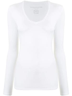 Soft Touch Long Sleeve V-Neck