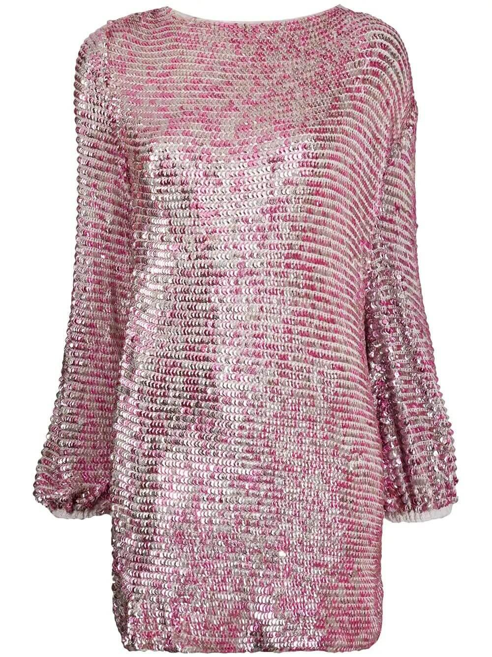 Tara Sequin Mini Dress Item # PF20-2187