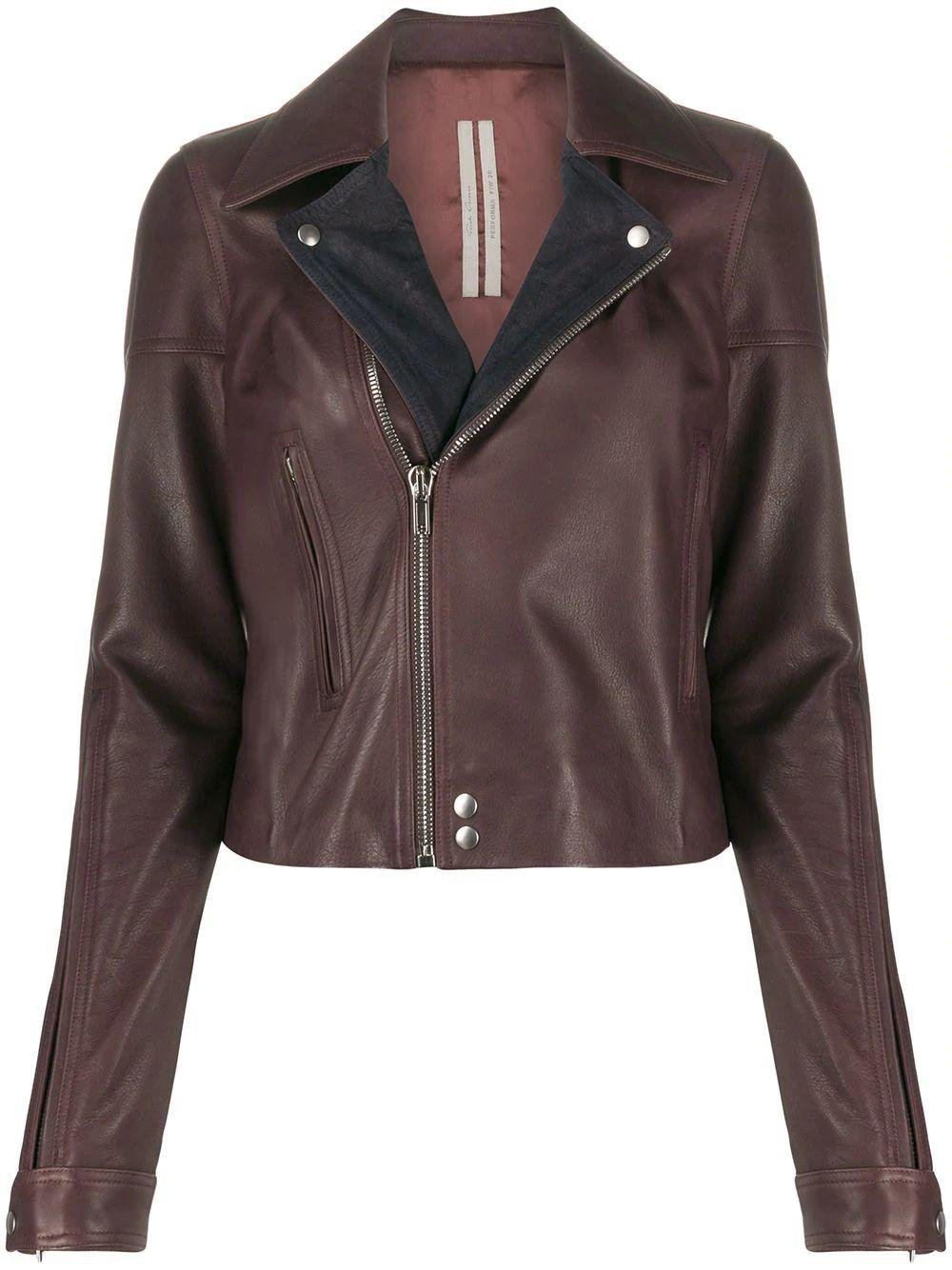 Dracubiker Leather Biker Jacket