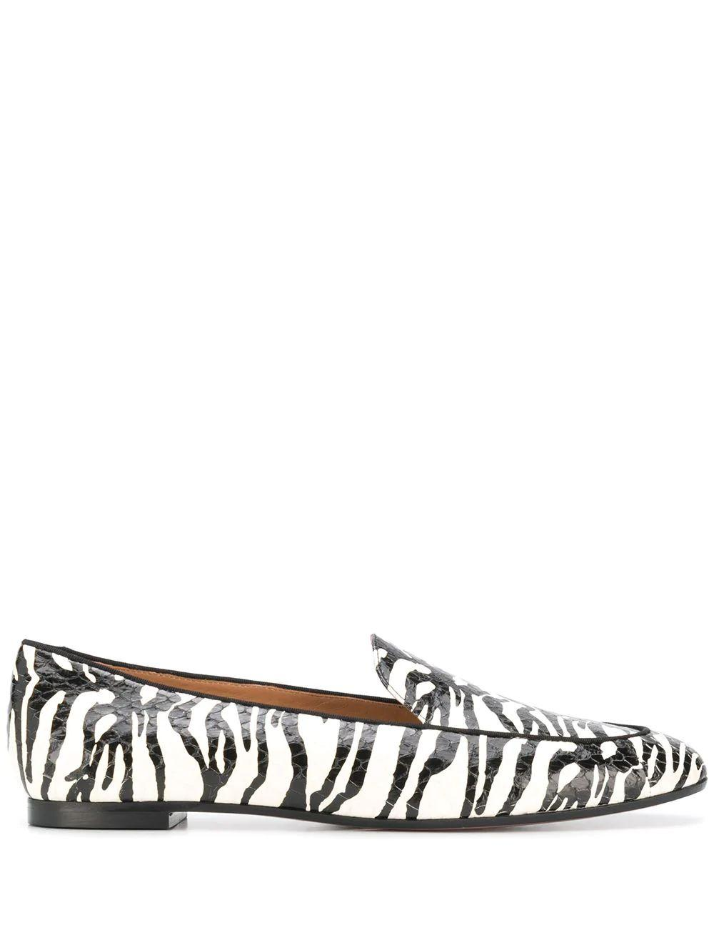 Purist Zebra Print Loafer