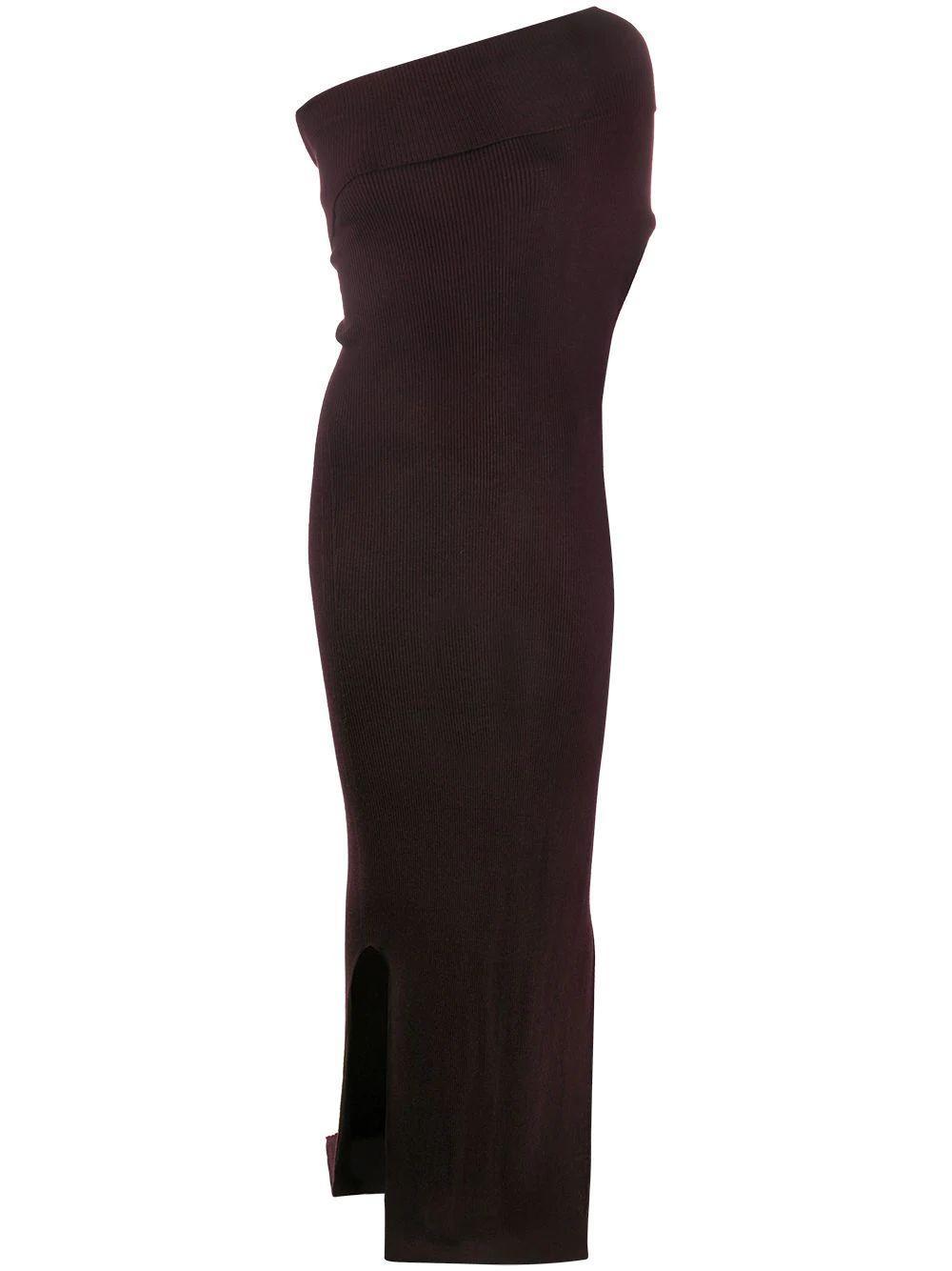 Jersey One Shoulder Dress
