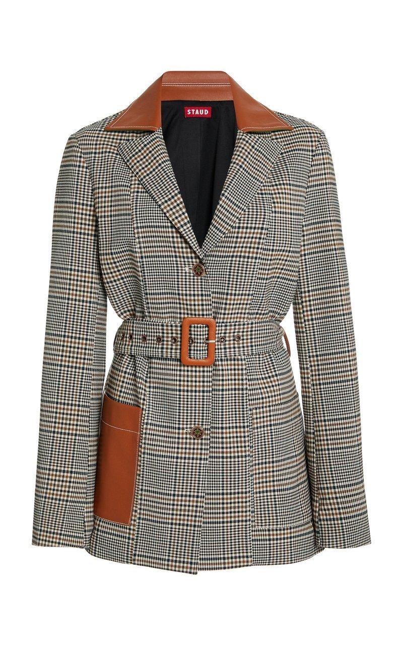 Paprika Glen Plaid Jacket Item # 260-8082-GLPD