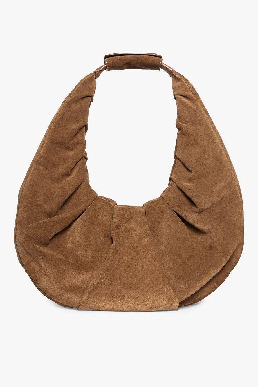 Large Soft Moon Bag Item # 34-9253-TAN