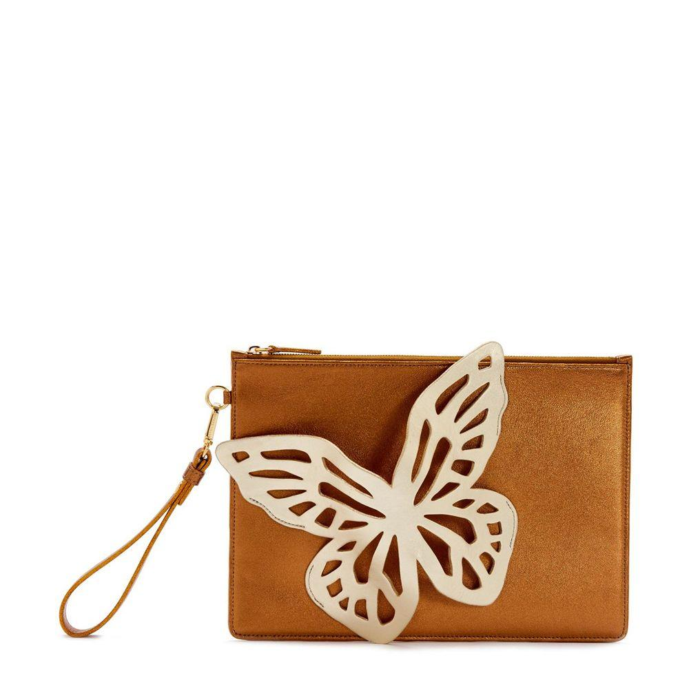 Flossy Butterfly Clutch Item # BAW20003