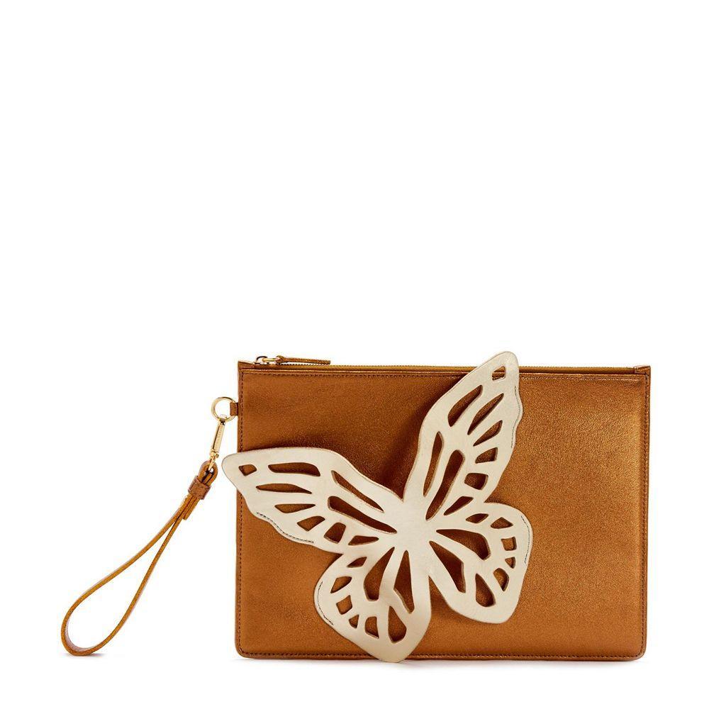 Flossy Butterfly Clutch