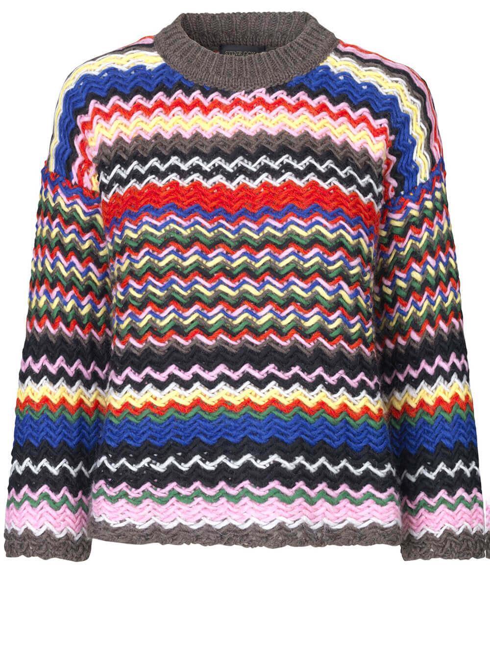 Rebeka Zig Zag Sweater Item # SG3348