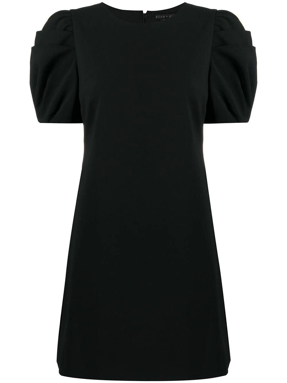 Hanita Puff Sleeve Shirt Dress Item # CL000202517