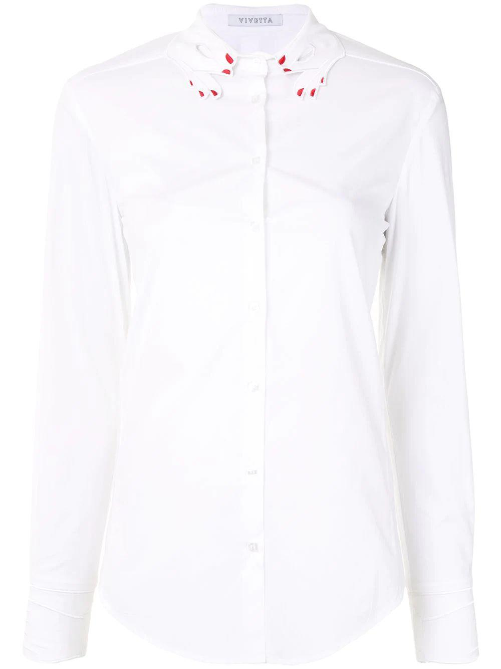 Hand Collared Button Down Shirt