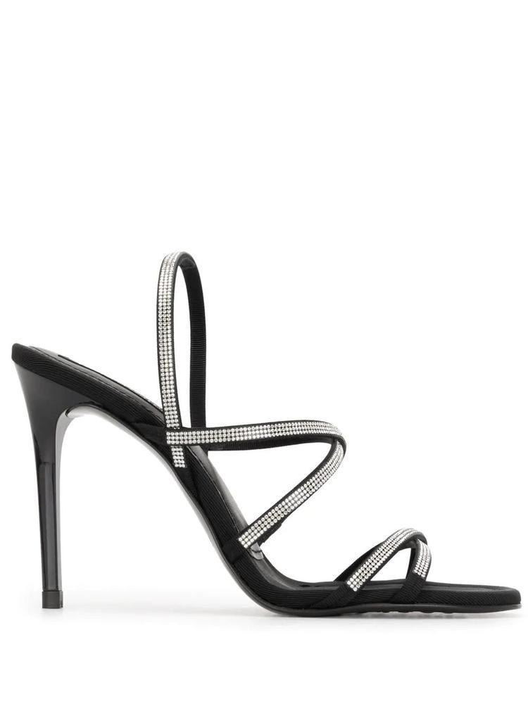 Strappy Crystal Embellished Heel Item # REA
