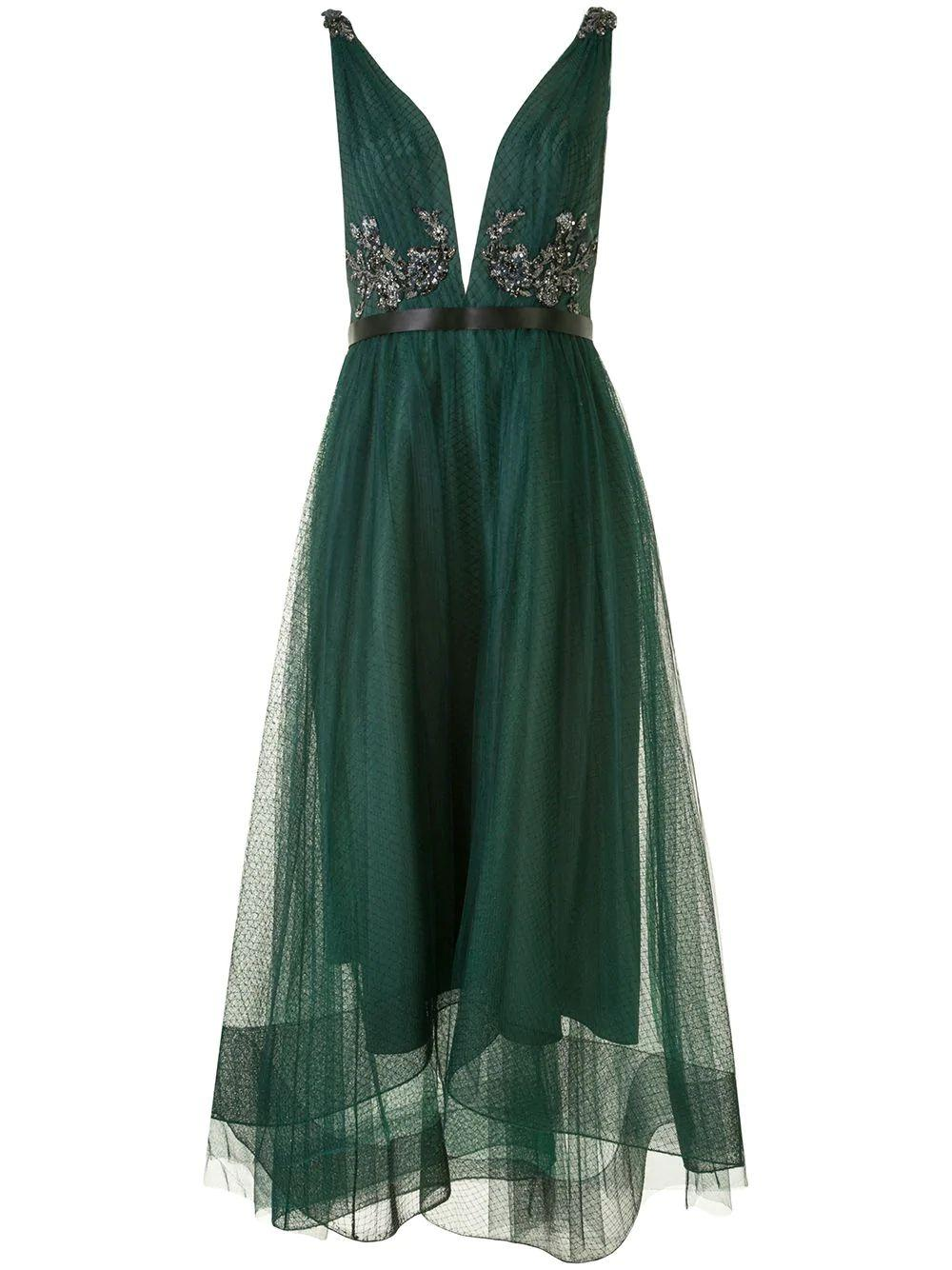 Tulle High-Low Dress